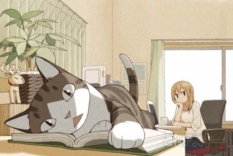 週アスCOMIC「我々は猫である」