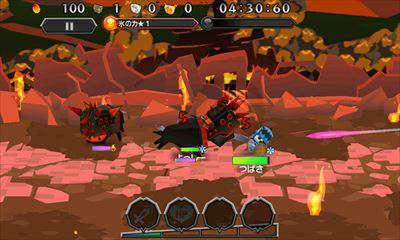 簡単操作でアイテム集めと爽快アクションが楽しいガンホー新作RPG『ピコットナイト』