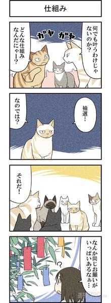 週アスCOMIC「我々は猫である」第28回