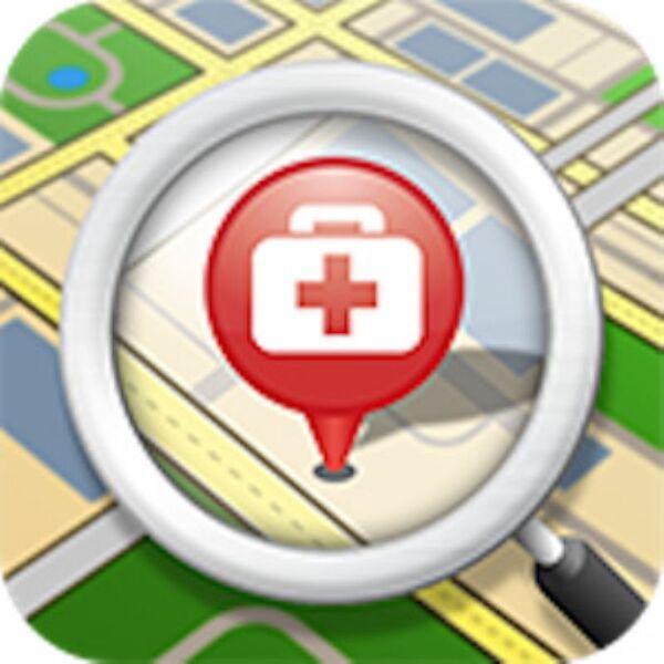 急病になっても近所の病院がサッと探せるAndroidアプリがイカス!