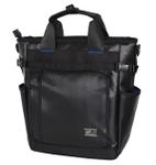 ノートPCやタブレットの専用ポケットが付いた3WAYビジネストートバッグ