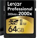 高っ!でも速っ!レキサーの世界最速2000倍速SDカードは64GBで3万円台後半:CP+2015