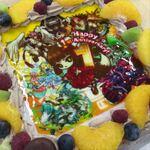 サモンズ:開発チームから届いた1周年記念ケーキが素敵すぎて食べられない!