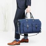 スーツカバー内蔵バッグが出張先に便利すぎ 冠婚葬祭の移動にも!