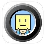 SNS投稿に便利!写真の顔をかわいいイラストで隠す『アイコン顔カメラ』