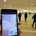 GPS不要の屋内位置測定技術で東京駅の地下をまわってみる