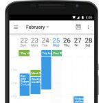 iPhone版もまもなく? Googleカレンダーアプリが週表示などに対応予定