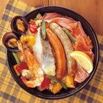 肉と魚を同時にたっぷり楽しめる具だくさんなパエリア:今週のゴチ