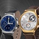 1.4インチ円形画面のAndroid Wear『Huawei Watch』 アナログクォーツにしか見えない高解像度液晶がキレイ:MWC 2015