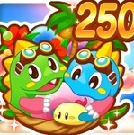 LINEゲームで遊べるスマホ版『パズルボブル』シリーズが全世界2500万DL突破!