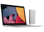 12インチMacBookとマッチするUSB Type-CのHDDがラシーから登場