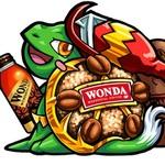 """モンスト:新発売の缶コーヒーWANDAを飲むと""""WONDAケンチー""""が貰えるぞ!"""