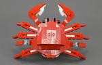 LEGOの恐竜キットでカニが出来たよ、やったー!組み換えLEGOの作り方が分かるアプリ『Plus L』がめちゃ熱い