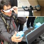 ヘッドマウントディスプレイで操作可能な新型ドローンを日本最速体験!
