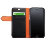 ビジネス/カジュアルとシーンを選ばないシンプルなiPhone6用手帳型ケース
