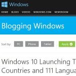 """Windows 10は2015年夏190ヵ国111言語で発売 新機能""""Windows Hello""""ってナニ?"""