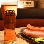 「よなよな BEER KITCHEN」神田店オープン!生ビール×ソーセージ最強のコンボ