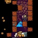 剣や拳で地面を掘りまくるザックザク感が楽しい!パズルアクション『ホーリーダンジョン』