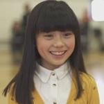 城ドラ:主題歌を歌う9歳の安留咲ちゃんがかわいすぎる件