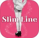 憧れのモデル体型に今すぐなれるカメラアプリ「スリム ライン」