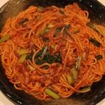 焼きスパゲティ「ロメスパバルボア」より挑戦状!1.4kgのギガ盛りを限定販売