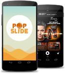 スマホ無料で使える アジアで大人気『POP SLIDE』:新経済サミット2015