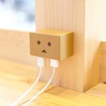 か…かわいい!コンセントにダンボーが!USB機器を2台同時充電できるACアダプター登場