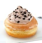 マックカフェの「シュガードーナツ」にチョコホイップとサクサクのオレオがのった新メニュー