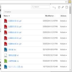 ChromeでDropboxのファイルをポップアップで操作できる QuickDropで遊ぼう!!