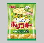 ポリンキーより「メロンパンの皮」風味が発売!!甘いのかしょっぱいのか……