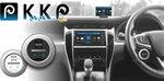ハンドル握ったままで操作可能に 車内スマホ使用の便利ツール:KKP(くるくるピ)
