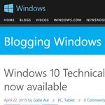 "Windows 10 TP版に新ビルド""10061""登場 新しいメールとカレンダーアプリが追加"