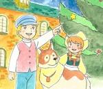 『世界名作劇場』佐藤好春の原画展が開催!カフェにはパトラッシュのラテが