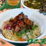 ワニ肉を使った『鰐天つけ麺』を麵屋武蔵 池袋店が限定販売