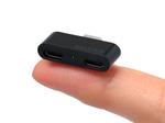 小っさ!指先サイズのマイクロUSBハブ『USB2-HUBMC2SS』が登場