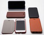 本革のエイジングが楽しめる! カードポケット付きiPhone 6 Plus用フリップケース