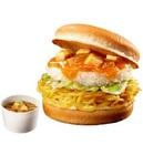 麺×ライスをパンに挟んだ最強の炭水化物バーガー『蒙古タンメン&定食バーガー』