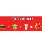 マクドナルドのバリューセットが劇的に変化!サラダ、ナゲット、シェイクも選べるように