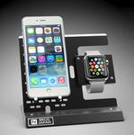 Apple WatchとiPhoneを一緒に載せる! 日本製ハンドメイドの金属製充電スタンド2種登場
