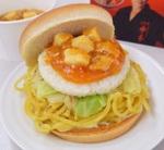 究極の炭水化物ハンバーガー『蒙古タンメン&定食バーガー』を食べてきた
