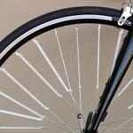 意欲は買いたい あらゆる方向からの風に対応する自転車スポークフィン