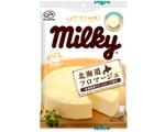 ママの味「ミルキー」に北海道フロマージュ登場!チーズケーキをイメージ