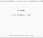 出たぁ!「We'll be back soon.」iOS 9のプレビュー配布は確実か:WWDC 2015