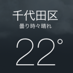 iPhoneの天気予報に移動先の地域を追加すれば梅雨空でも慌てません