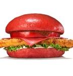 真っ赤!バーガーキングで見た目ヤバめな「赤いハンバーガー」