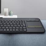 Windows 10対応のタッチパッド付き無線キーボード『K400 Plus』が約6000円で登場