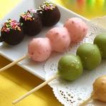 冷して食べるスイーツのお団子「アイスチョコだんご」が老舗店より登場