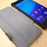 大切なXperia Z4とZ4 Tabletを保護するビザビのレザーケースをレビュー