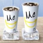 マクドナルドでコーラやファンタの全サイズ100円キャンペーン