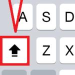 iPhoneで大文字の英字を連続で打てるCaps Lockの使い方